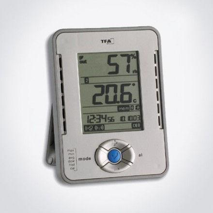 Datalogger de temperatura y humedad TFA 30.3015