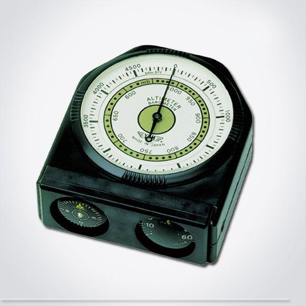 Altímetro analógico con brújula y termómetro