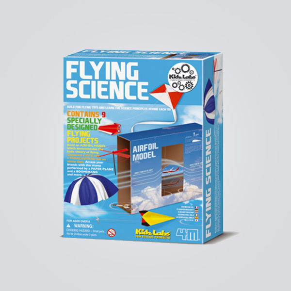 KIT DE EXPERIMENTOS FLYING SCIENCE