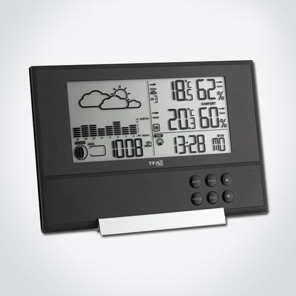 Estación meteorológica inalámbrica con barómetro TFA 35.1106