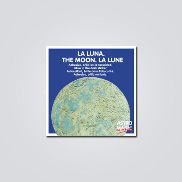 Luna fluorescente adhesiva