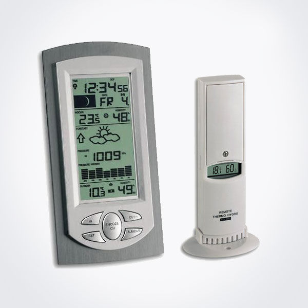 Estación meteorológica digital con barómetro TFA 35.1045