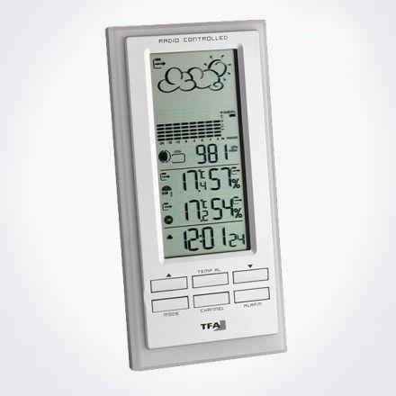 Estación meteorológica inalámbrica digital TFA 35.1101.02