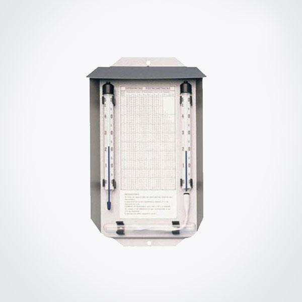 Psicrómetro (o termómetro húmedo) de resolución 0.5º