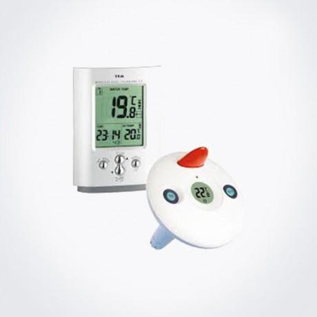 Termómetro digital para piscina con temperatura interior TFA 30.3033