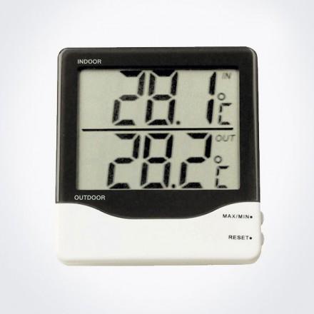 Termómetro digital con sonda números grandes TFA 30.1011