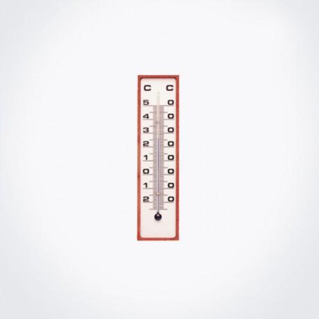 Termómetro para interior o exterior de 15 cm.
