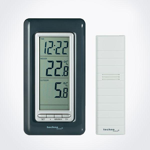 Termómetro digital int/ext La Crosse WS 9162