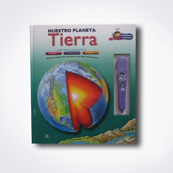 Nuestro planeta tierra – Libro interactivo