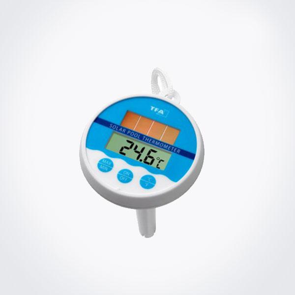 Term metro digital para piscina tfa for Termometro piscina