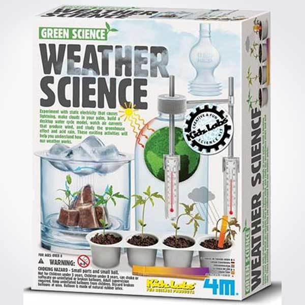 WEATHER SCIENCE (KIT DE EXPERIMENTOS)