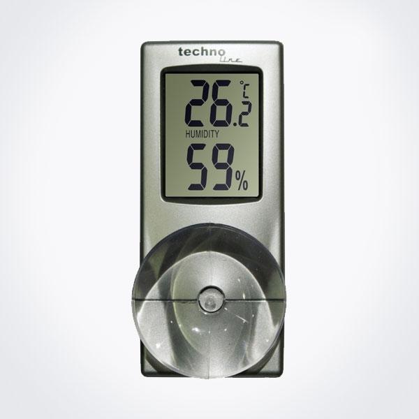 Termohigrómetro de ventana Technoline