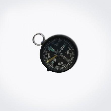 Brújula de cristal y aluminio diámetro 45 mm
