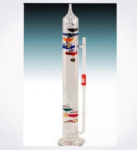 Termómetro de Galileo con barómetro 40 cm.