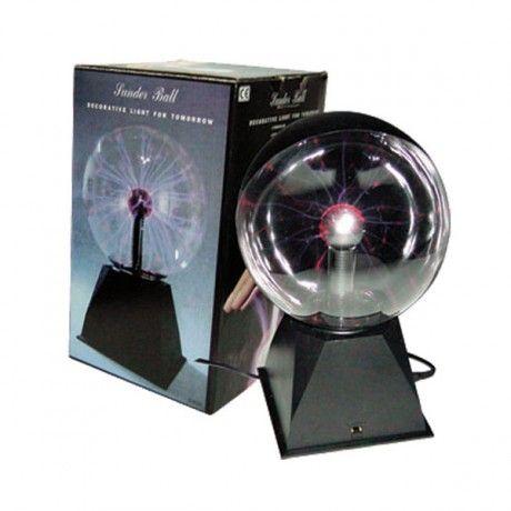 Globo de plasma de 20 centímetros de diámetro