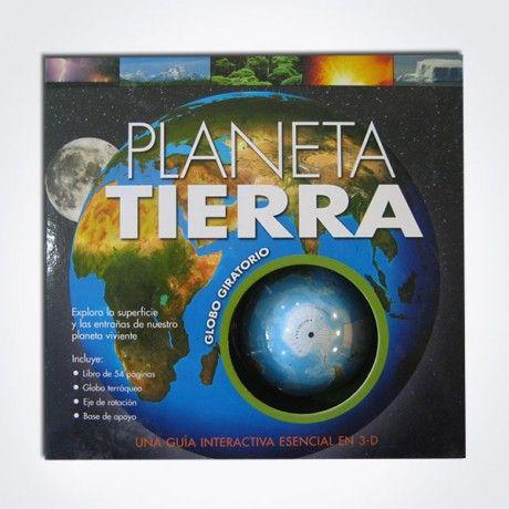 PLANETA TIERRA – GLOBO GIRATORIO