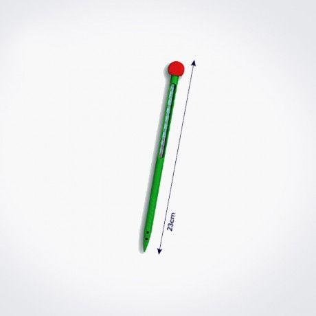 Termómetro con vaina de plástico para mediciones agrícolas
