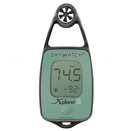 Anemómetro digital con termómetro Skywatch Xplorer 2