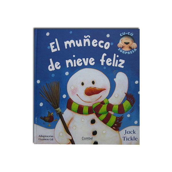El muñeco de nieve feliz