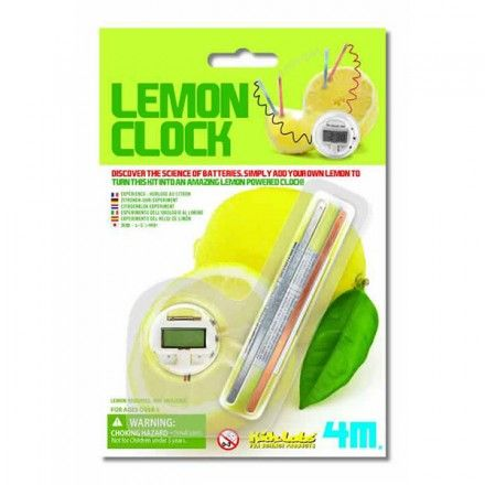 LEMON CLOCK – KIT EXPERIMENTAL