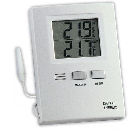 Termómetro digital con sonda interior/exterior TFA 30.1012