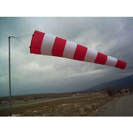 Manga de viento gigante de longitud 3.75 m.