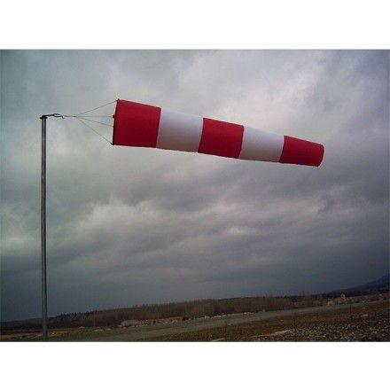 Manga de viento mediana de longitud 2,50 m.
