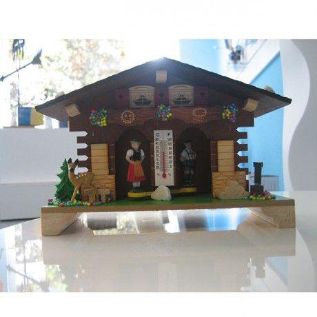 Casita meteorológica de madera 185×135 mm