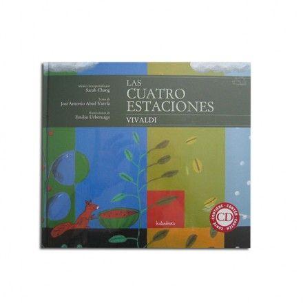 Las cuatro estaciones. Libro + CD