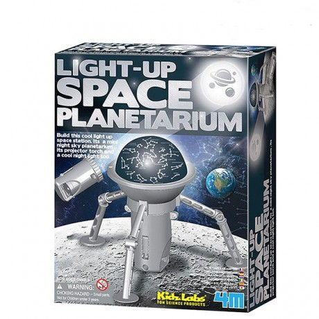 Light-up space planetarium (planetario de juguete) 4M