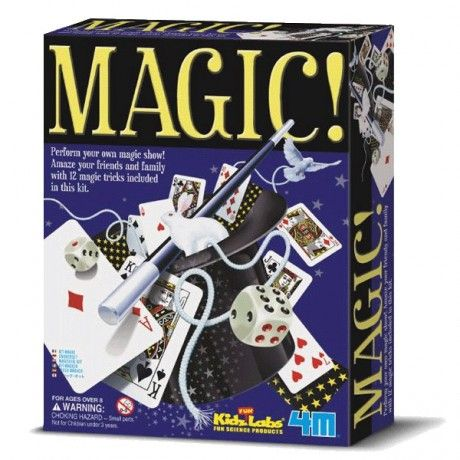 Kit de juegos de magia Magic! 4M