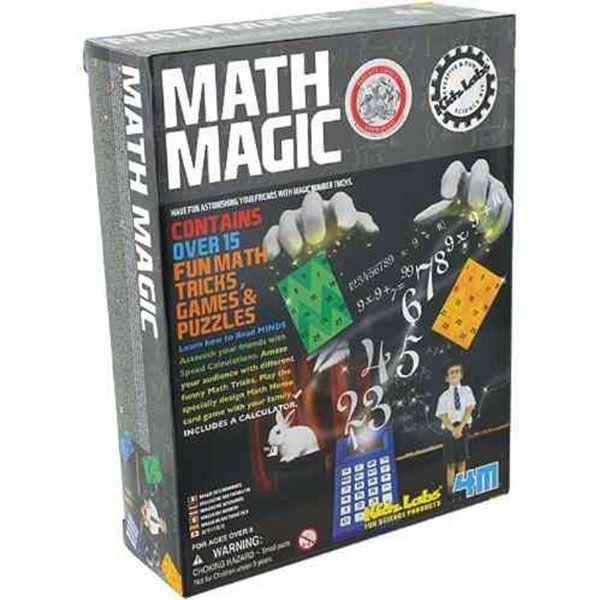 Kit de magia de las matemáticas 4M