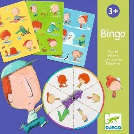 Bingo de las cuatro estaciones – Djeco