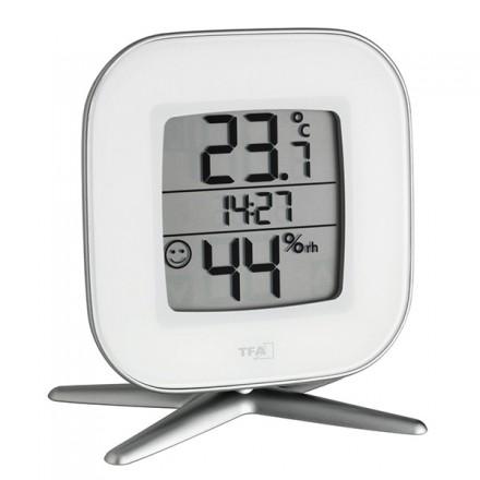 Termohigrómetro con reloj TFA 30.5030.02