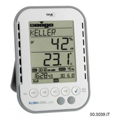 Datalogger de temperatura y humedad 30.3039.IT