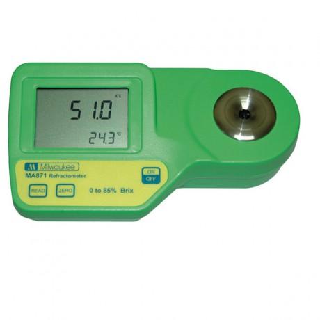 Refractómetro digital portátil modelo MA871