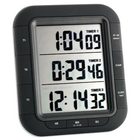 Avisador digital de tres tiempos TFA 38.2023