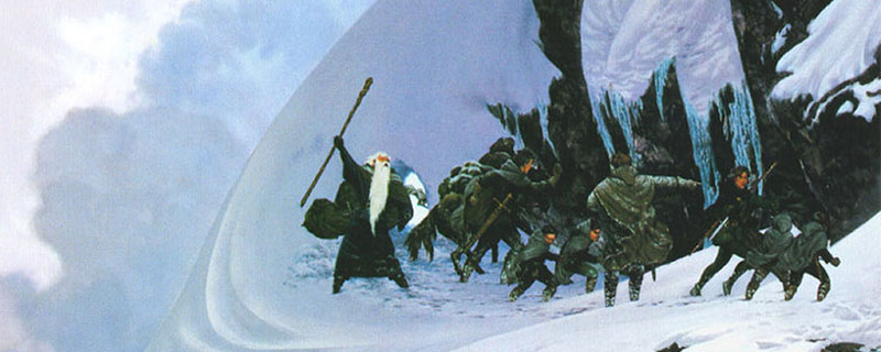 La Compañía del Anillo busca refugio para no morir enterrada.
