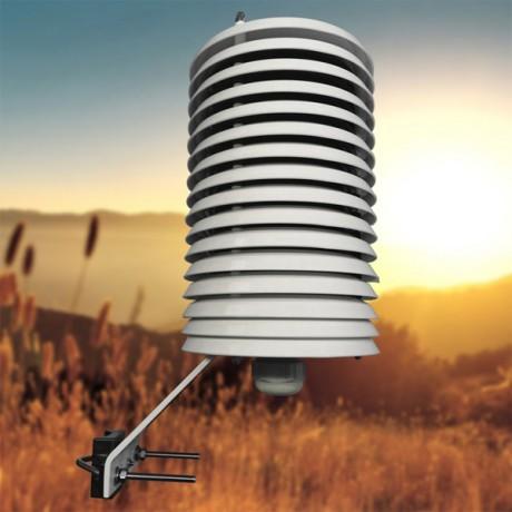 Garita protectora de 16 platos para sensores de temperatura y humedad