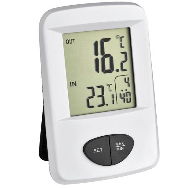 Termómetro para interior y exterior TFA 30.3061.02