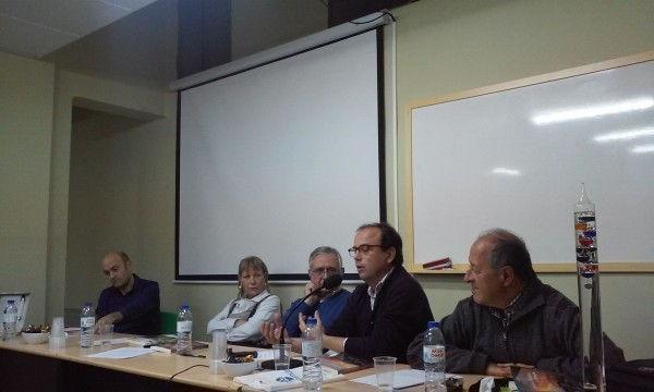 José Ángel Núñez, durante su intervención.