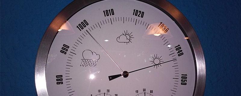 El barómetro: funcionamiento y puesta en estación.