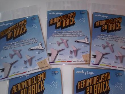 Aeromodelismo en brick – maqueta de avión para volar modelo Stratus