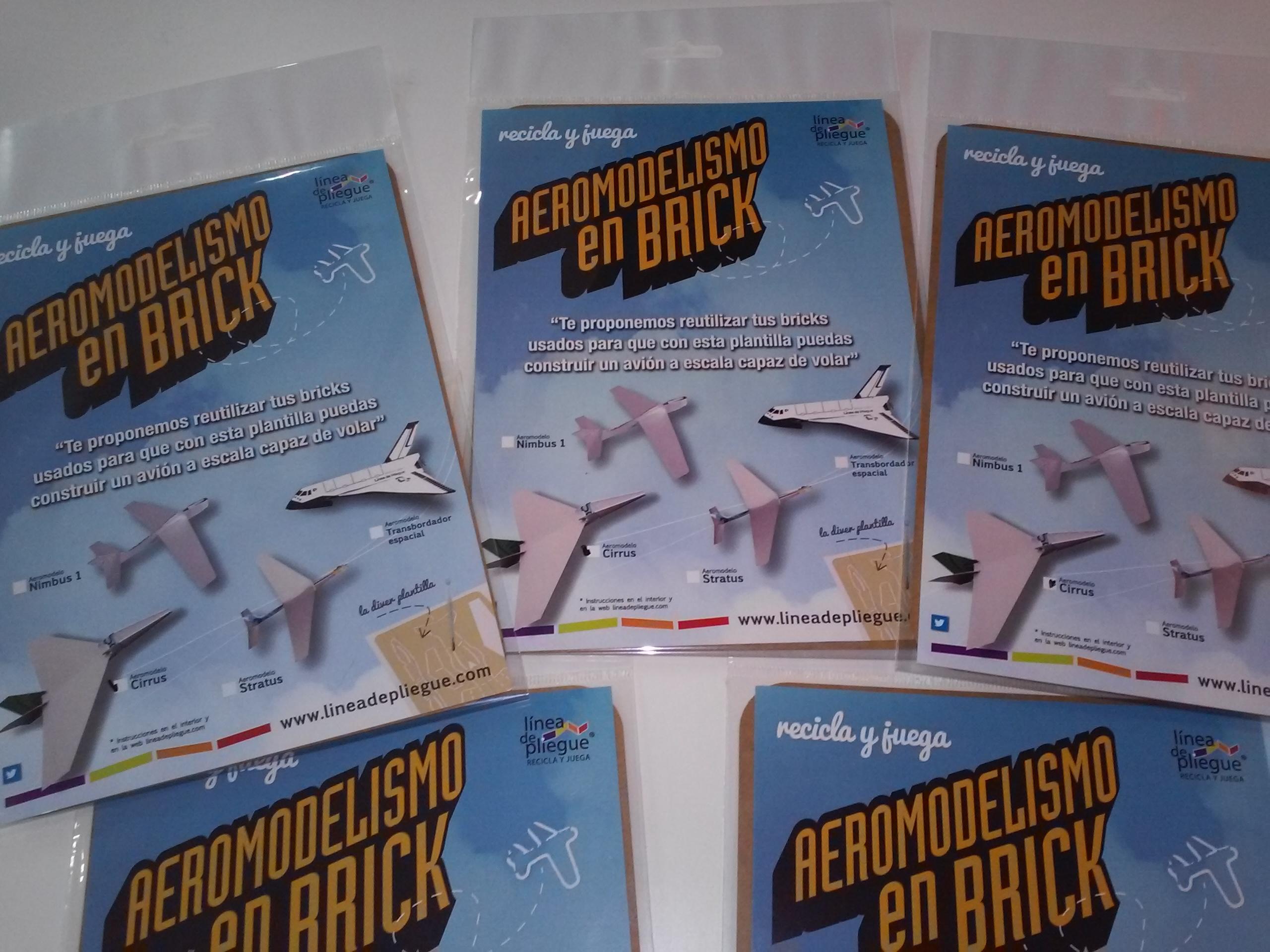 Aeromodelismo en brick – maqueta de avión para volar Cirrus