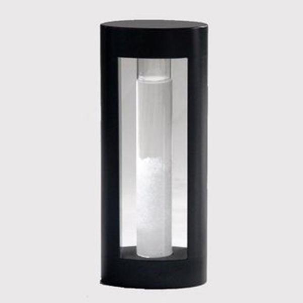 Stormglass con marco de madera de 18 centímetros