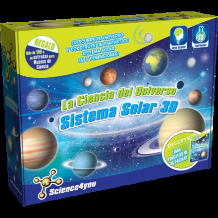 La ciencia del Universo – Sistema Solar 3D