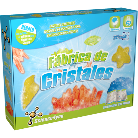 Fábrica de cristales Science 4 you