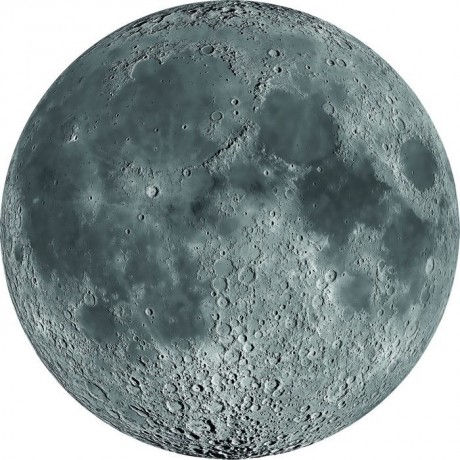 Luna fluorescente de 67 centímetros de diámetro