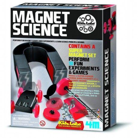 Magnet science (ciencia del magnetismo)