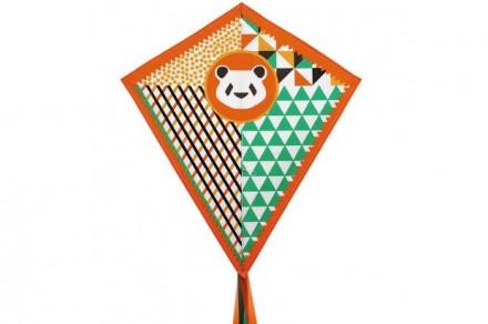 Cometa oso panda 60 x 70 centímetros DJECO